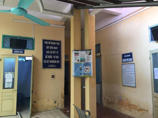 Khu vực khoa sản của bệnh viện.