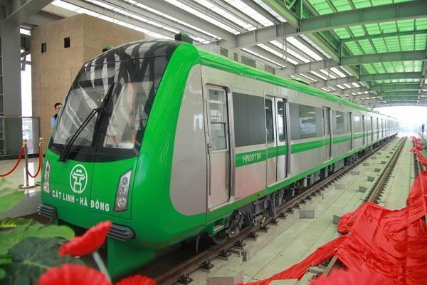 Tàu đường sắt Cát Linh chạy 35 km/h, có trợ giá vé