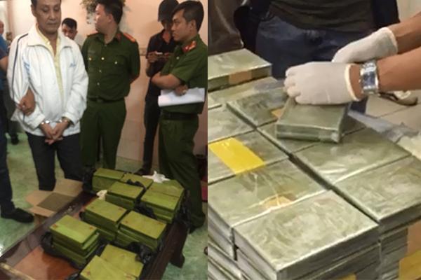 Trùm ma tuý lớn nhất từ trước đến nay ở Sài Gòn bị bắt