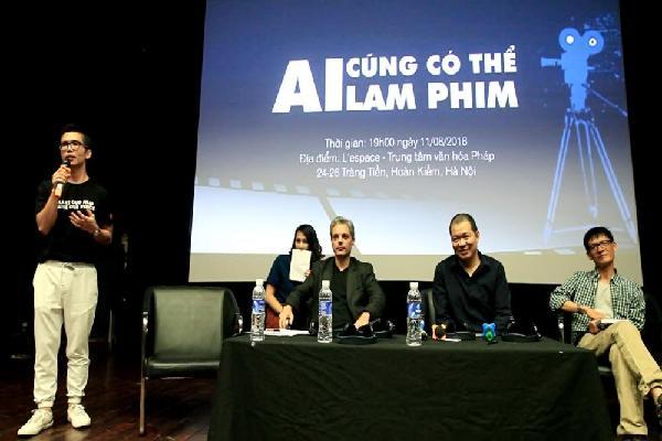 Đạo diễn 'Cha cõng con' truyền lửa cho các nhà làm phim trẻ qua talkshow 'Ai cũng có thể làm phim'