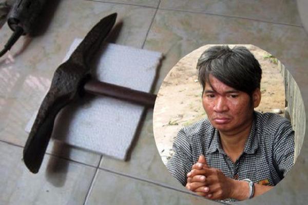 Bị mắng vì không nấu cơm, chồng cay cú dùng cuốc đánh chết vợ