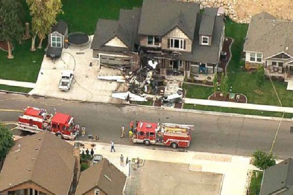 Phi công Mỹ lao máy bay vào nhà sau cuộc cãi vã với vợ