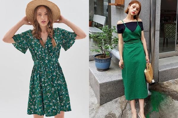 Bí quyết diện trang phục tông màu xanh lá hot trend đẹp và chất như fashionista