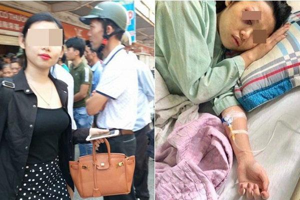 Dân mạng xôn xao về 'quả báo' của Linh Thỏ: 2 tháng trước được chồng chở đi đánh vợ cũ giữa chợ, nay lại bị đánh sái quai hàm?