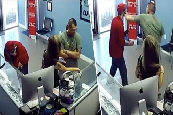Mỹ: Người đàn ông đấm thẳng vào mặt kẻ lạ dám nhìn chằm chằm vào vòng 3 của bạn gái