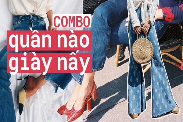 Học cách mix giày với từng loại quần jeans để mang đến sự mới mẻ cho bạn