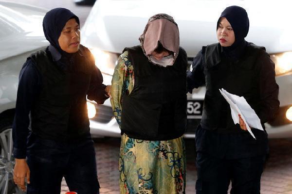 Đoàn Thị Hương được đưa tới tòa dự phiên tuyên án