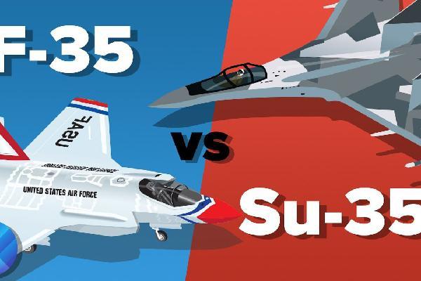 F-35 Mỹ có tàng hình tới đâu cũng không qua mặt được Su-35 Nga?
