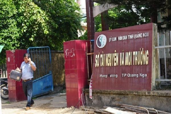 Biên phòng tỉnh lấy lại trụ sở, Văn phòng Đất đai Quảng Ngãi tạm đóng cửa