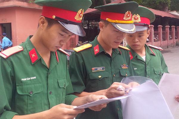 Một trường quân đội tuyển bổ sung chỉ tiêu từ 15 điểm