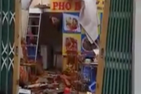 Phú Quốc: Nhiều ngôi nhà bị thổi bay mất nóc vì ảnh hưởng của bão số 3