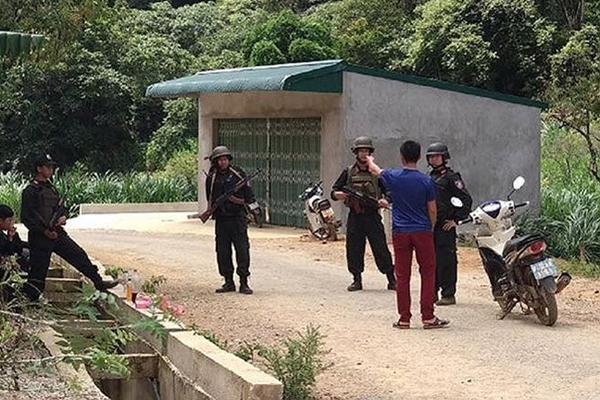 Vẫn đóng chốt, tuần tra hàng ngày tại Lóng Luông