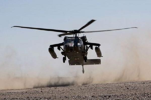 Trực thăng Mỹ thổi sập lều dã chiến, 22 binh sĩ bị thương