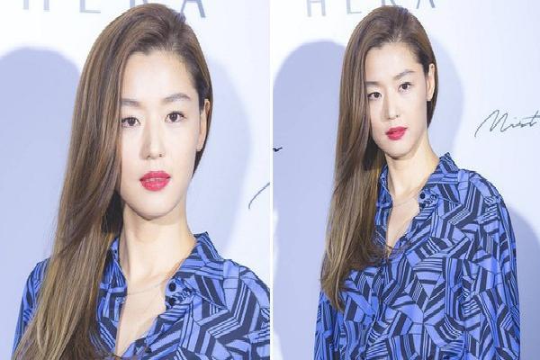 'Mợ chảnh' Jeon Ji Hyun xinh đẹp ngất ngây với màu tóc mới, diện áo gần 30 triệu