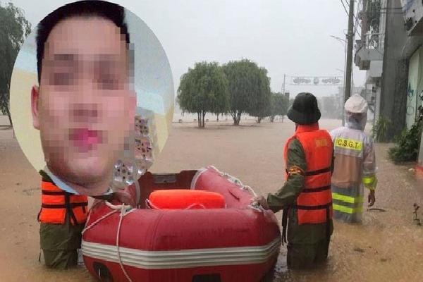Trên đường đi công tác về, nam chiến sỹ công an gặp nạn, tử vong thương tâm