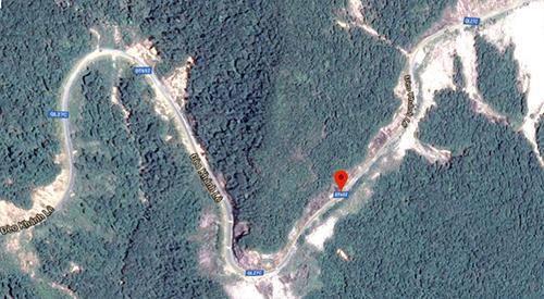 Tuyến đèo Khánh Lê nối Khánh Hòa và Lâm Đồng.