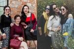 20/10: Angela Phương Trinh khoe mẹ đẹp em xinh, Tăng Thanh Hà xúng xính váy áo cùng bạn thân xuống phố