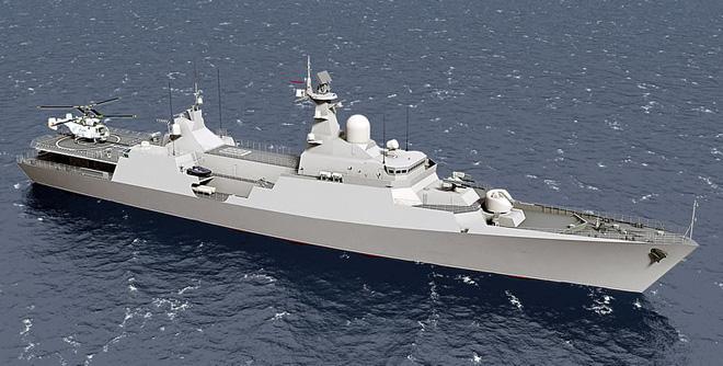 Thiết kế tàu hộ vệ tên lửa Gepard sử dụng tên lửa Klub-N. Đây là mẫu thiết kế có nhiều điểm tương đồng nhất với các tàu Gepard hiện tại của HQNDVN.
