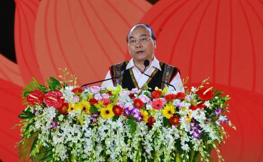 Thủ tướng Nguyễn Xuân Phúc phát biểu tại lễ khai mạc