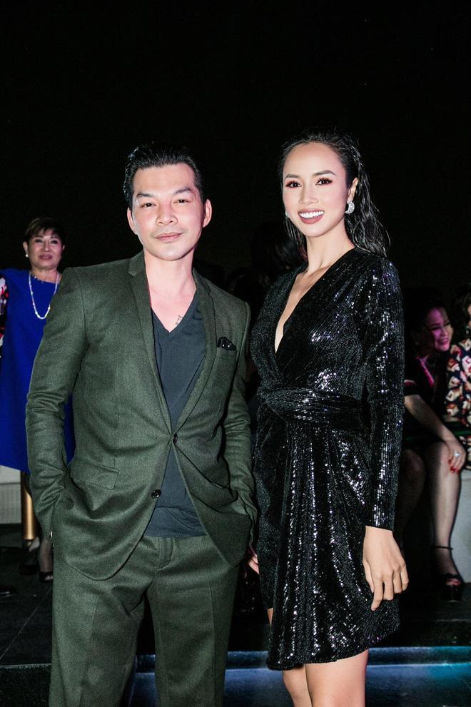 Trần Bảo Sơn sánh đôi cùng Vũ Ngọc Anh.