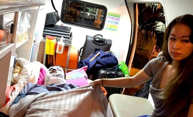 Hai Việt kiều Canada, nạn nhân trong vụ tạt axit mùng 5 Tết ở huyện Bình Sơn (Quảng Ngãi). Ảnh: A.Q.