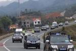 Đội hình xe hộ tống ông Kim Jong Un về Hà Nội vận hành thế nào?