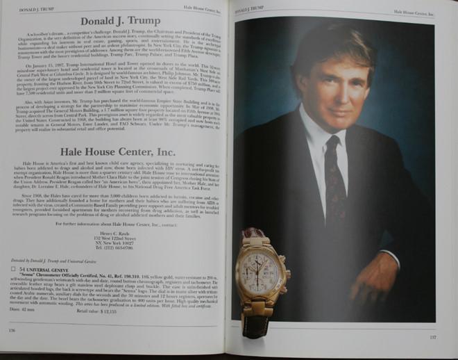 Chiếc đồng hồ Universal Genève Senna 198.310 mạ vàng 18K. Ảnh: ablogtowatch.