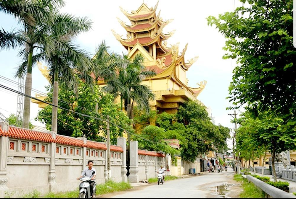 Lăng mộ hoành tráng của gia đình đại gia Trần Văn Sen tại làng Mẹo