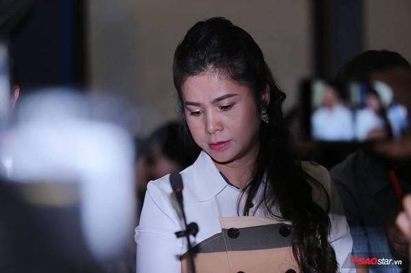 Bà Lê Hoàng Diệp Thảo tại phiên tòa chiều 1/3.