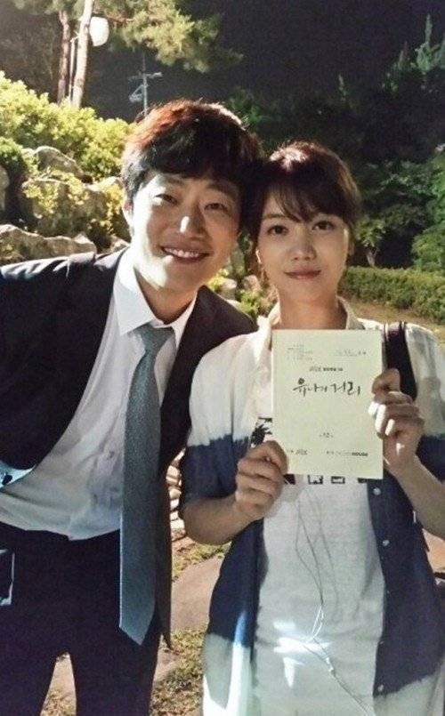 """Kim Ok Bin từng hẹn hò nam diễn viên """"Huyền thoại biển xanh"""" Lee Hee Joon và chia tay chóng vánh sau 6 tháng."""