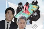 Họa sĩ Hàn Quốc tái hiện scandal chấn động của Seungri bằng bức tranh đầy ám ảnh