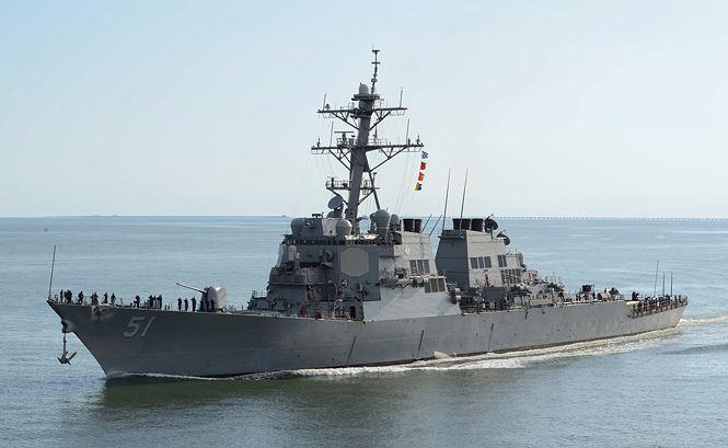 Tàu lớp Arleigh Burke.