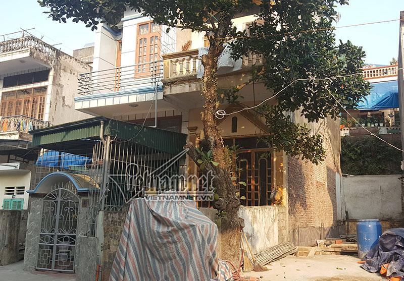 Ngôi nhà của bà Yến và chồng cũ tại Ngõ 13, P. Hồng Hải