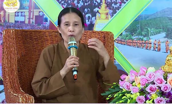 Bà Phạm Thị Yến. Ảnh chụp màn hình