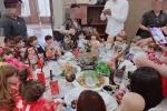 Bàn tiệc cưới toàn búp bê Kumanthong khiến dân mạng 'hết hồn vía'