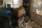 Người đàn bà Mỹ để bố sống trong nhà đầy rác và vài trăm con chuột