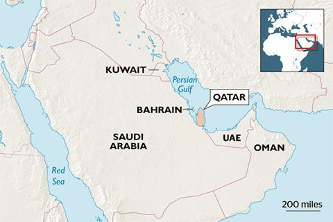 Bản đồ khu vực Trung Đông