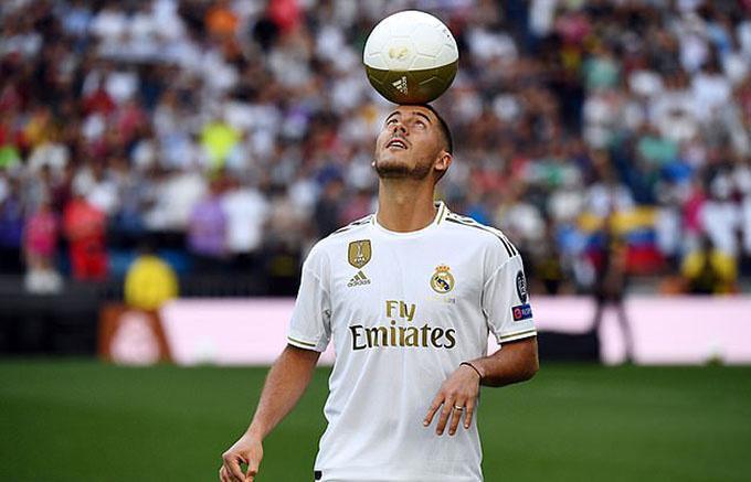 50.000 CĐV Real tới xem lễ ra mắt của Hazard