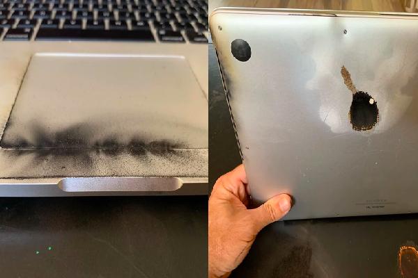 Nguy cơ cháy nổ từ pin trong laptop