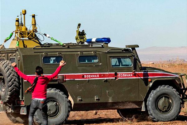 'Đồ chơi' bảo vệ TT Putin tới Syria giúp Quân cảnh Nga đả bại phiến quân: Lá chắn bí mật