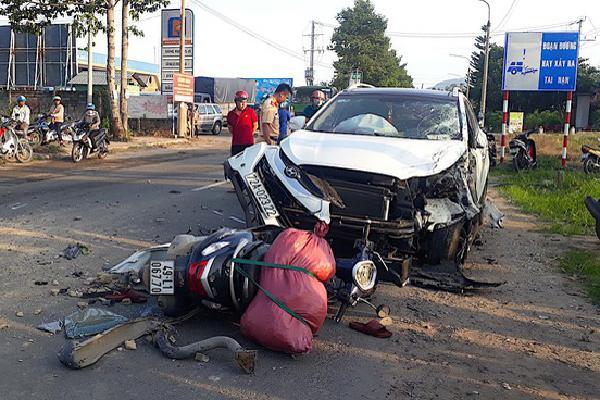 Một người tử vong sau tai nạn liên hoàn