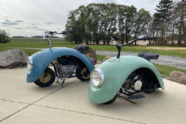 Volkspods - xe máy 'Con bọ'