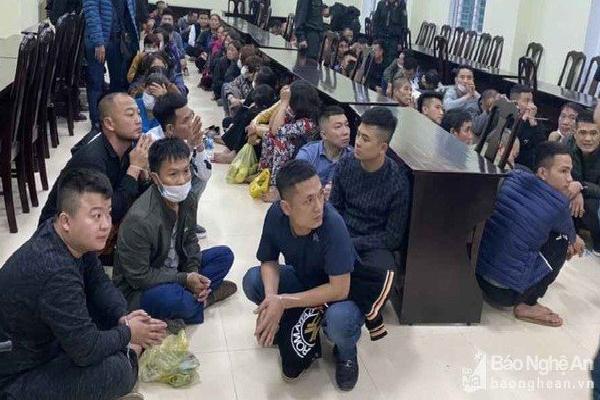 Lời khai của 'ông trùm' sới bạc 'siêu khủng' vừa bị triệt phá ở Nghệ An