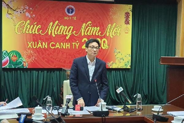 Phó Thủ tướng yêu cầu kích hoạt chính thức Trung tâm phòng ngừa dịch nCoV khẩn cấp của bộ Y tế