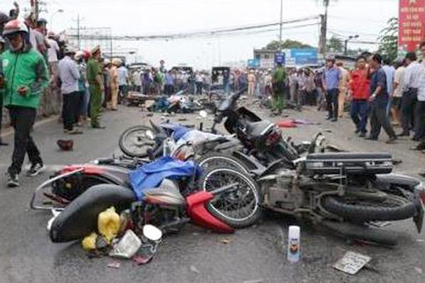 27 người chết do tai nạn giao thông ngày mùng 2 Tết
