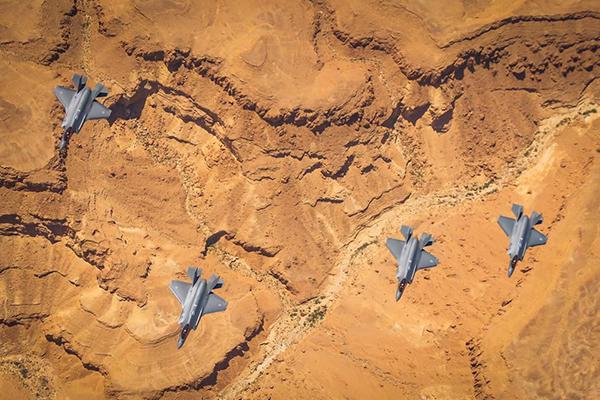Tiêm kích tàng hình Mỹ - Israel lần đầu tập trận chung: Thông điệp ngầm gửi cho Iran?