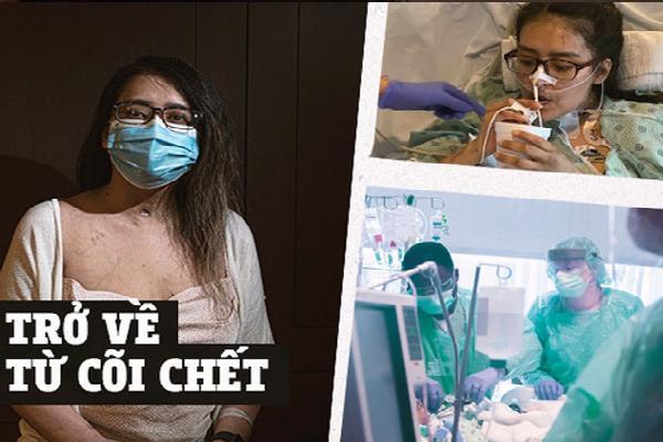 'Đó là cơn ác mộng dài đến đáng sợ': Trải lòng của bệnh nhân Covid-19 đầu tiên được ghép phổi tại Mỹ sau khi trở về từ cõi chết
