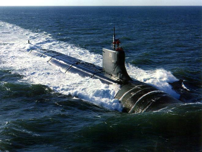 Tàu ngầm hạt nhân USS Seawolf (SSN 21) của Hải quân Mỹ.
