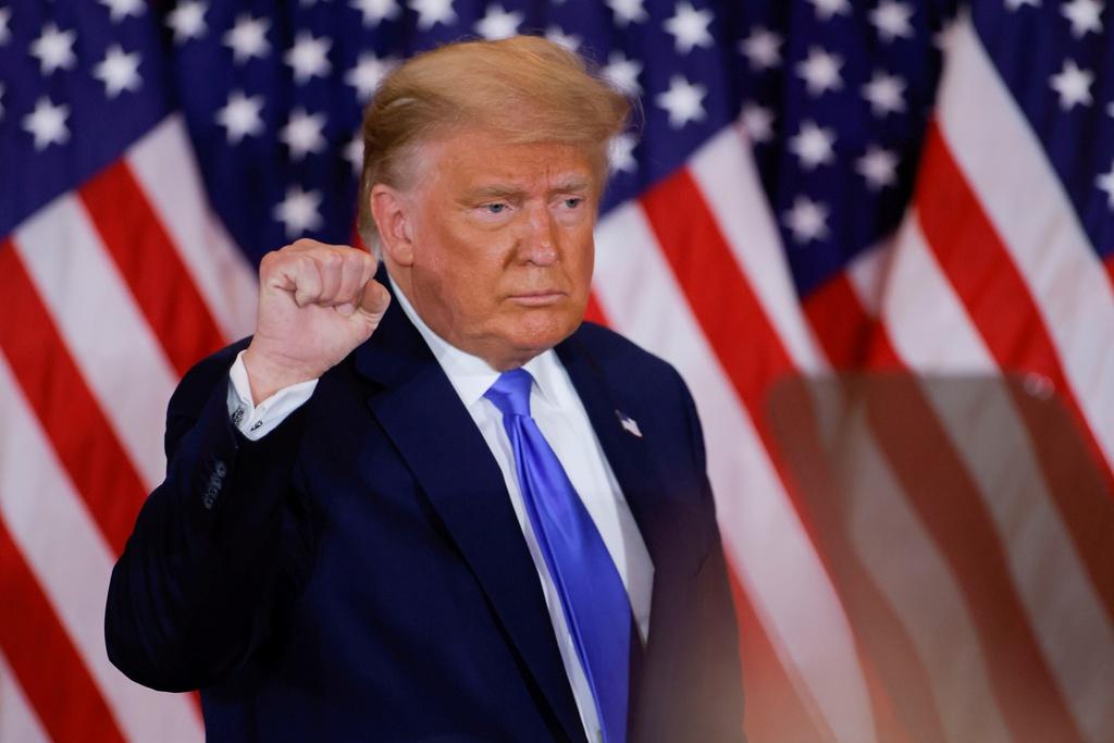 Ông Trump vẫn nuôi hy vọng lật ngược tình thế. Ảnh: Reuters.