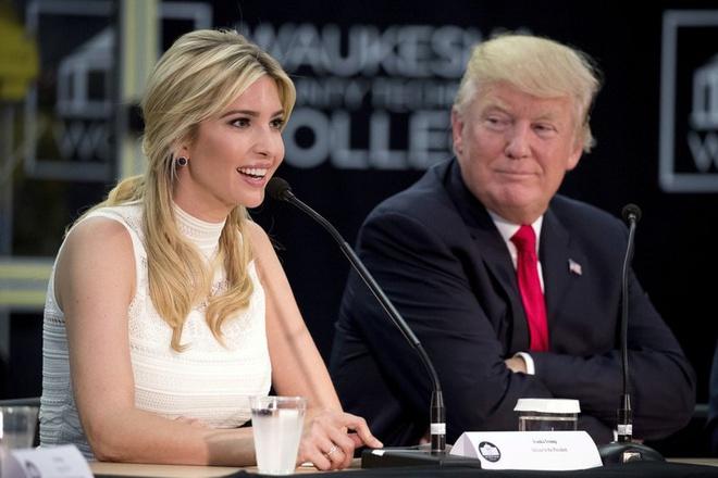 Ivanka Trump có khả năng theo đuổi mục tiêu chính trị trong tương lai. Ảnh: AP.